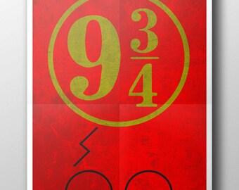 Harry Potter Minimalist movie poster