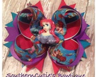 Ariel Stacked Hair Bow