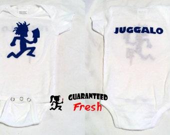 Hatchetman Juggalo baby boy bodysuit  - Custom made to order- newborn-18mo