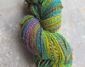 Handspun yarn--Island of Flowers