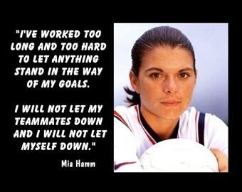 Mia Hamm Soccer Quotes. QuotesGram  |Mia Hamm Soccer Quotes