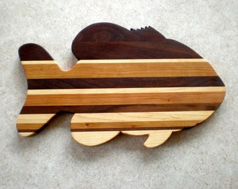 Popular items for fish cutting board on etsy for Fish cutting board
