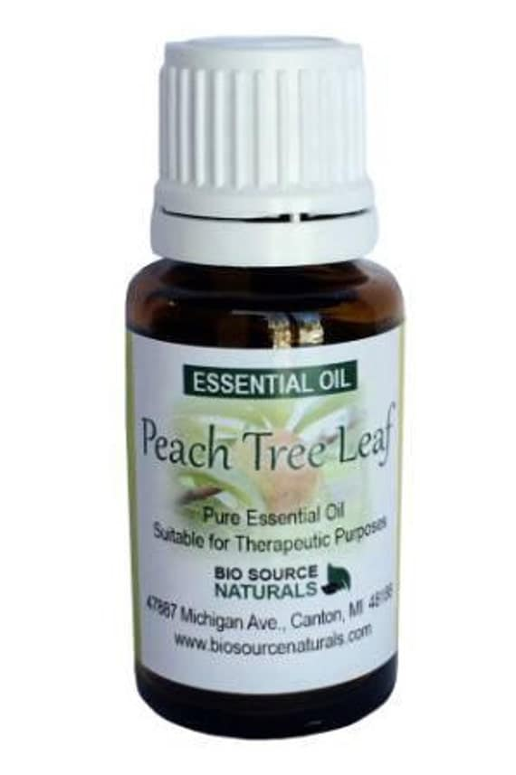 Peach Tree Leaf (Prunus persica) Absolute Essential Oil - 0.5 fl. oz / 15 ml