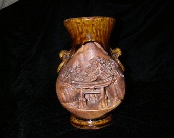 Banko Ware Japan Vase