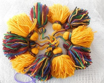 Tribal Belt Tassels-Small Set of 10.   CLEARANCE ITEM 50% off