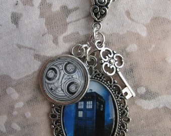Doctor Who  Cluster Charm Necklace