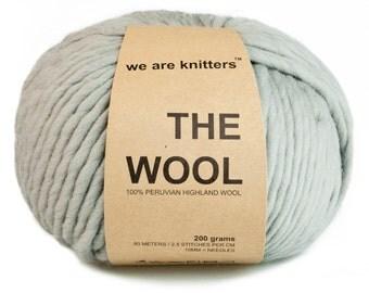 100% Peruvian wool - Grey