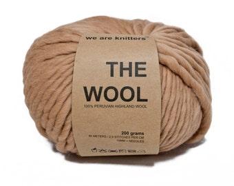 100% Peruvian wool - Beige