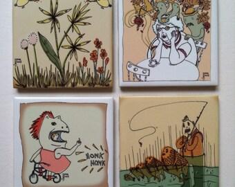 Illustrated Coasters
