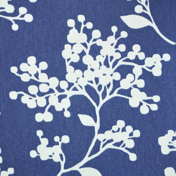 2.2 Yards Or 80 Inches, White Berry Home Decor Fabric