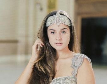 Bridal Headpiece - Terni ( Made to Order)
