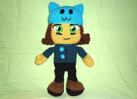 Anime doll amigurumi pattern crochet kawaii by JBcrochetwizard