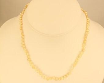 Childs Pearl Necklace w/ Bracelet