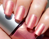Golden Pink Franken Nail Polish - Old rose with intense golden reflections
