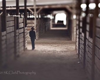 The Stalls, Western Fine Art Photography, Rustic Home Decor, Ranch House style, Texas art,Cowgirl,Horse culture, Barn photography,Country