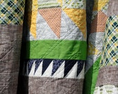 Basket of Chips Quilt - queen size
