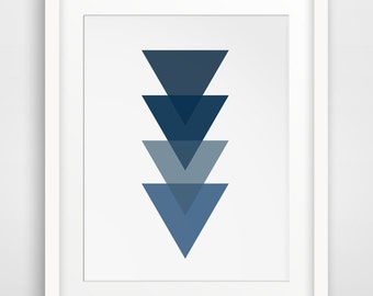 Navy Blue Wall Decor blue wall art navy arrows navy wall prints navy wall art