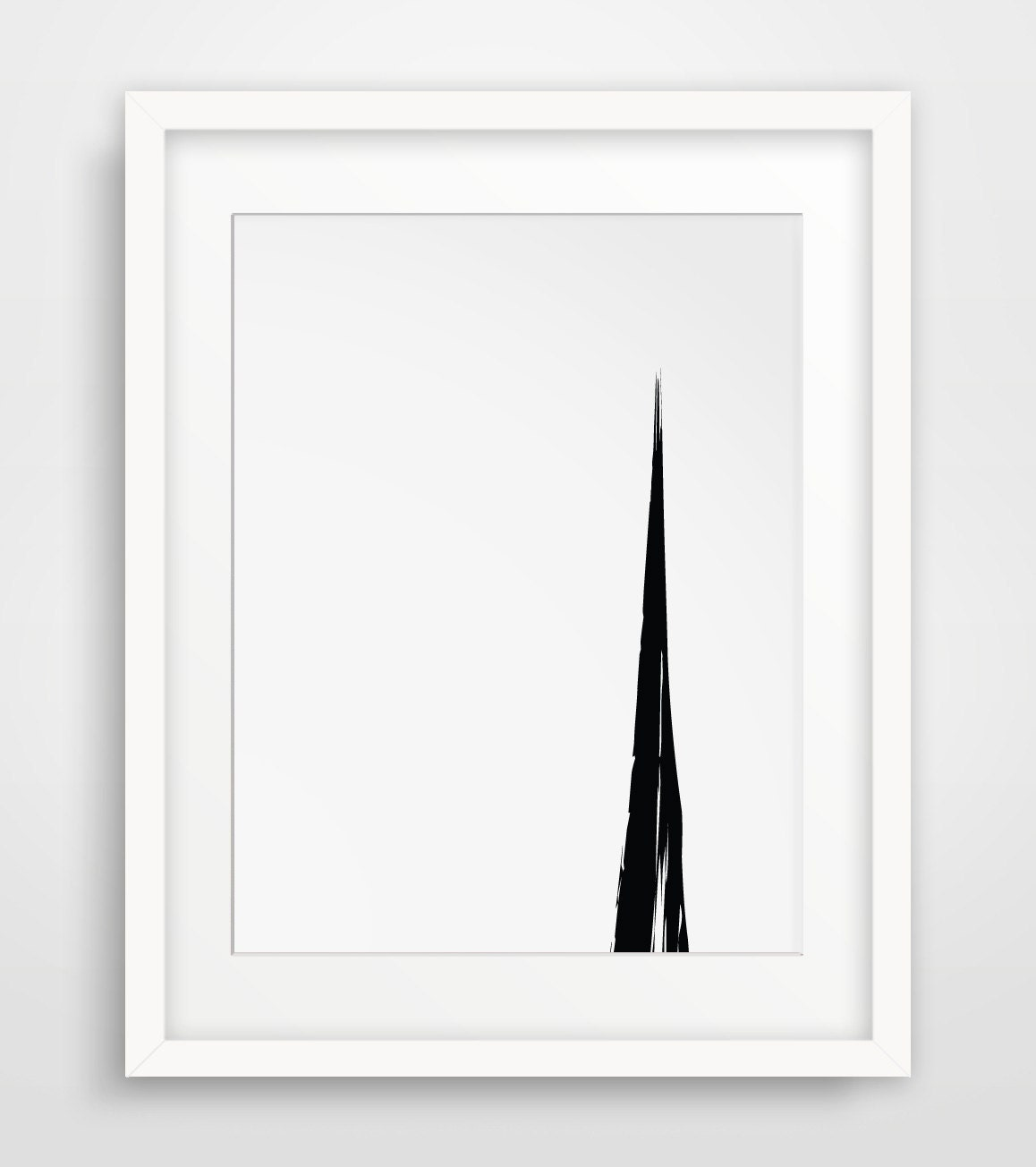 Simple wall art black white art minimalist art simple Simple wall art