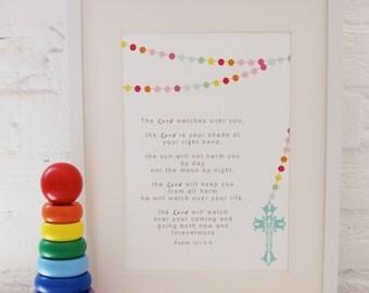 Nursery Print: Christening/Baptism