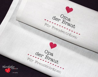 Wedding cloth...Embroidered handkerchief