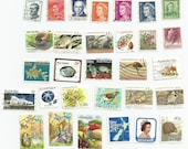 30 Australia and New Zealand Postage Stamps (mix H)