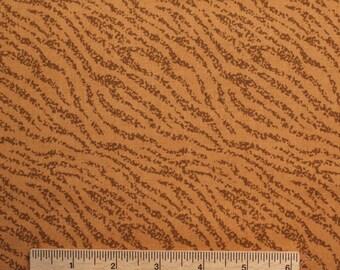Free Spirit Zebra stripe Animal print fabric Toffee brown chocolate rust stripe 100% Cotton Fabric Quilting fabric by the yard freespirit zo
