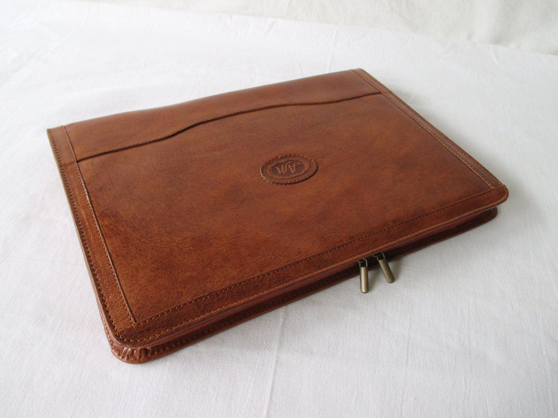 resume Leather Portfolio Case For Resume portfolio etsy leather vegetable tanned cognac handmade compendium surface pro 3 ipad