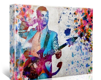 Prince Art, Funk Original Painting, Prince Canvas Art Print