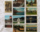 Vintage Postcards of Eastern United States Featuring Washington D.C. and Annapolis