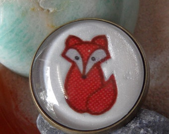 "Ring - ""little fox"""
