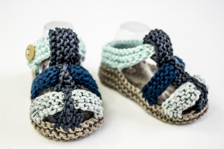 Knitting pattern pdf baby boy sandal pattern baby sandal zoom bankloansurffo Image collections