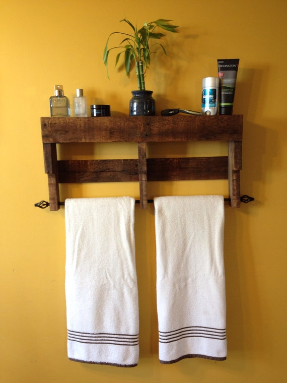 Excellent Handmade Reclaimed Pallet Wood Shelf Entry Organizer Coat