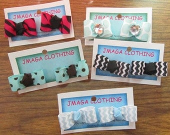 Dog Hair Bows Choose Your Set or Mix and Match