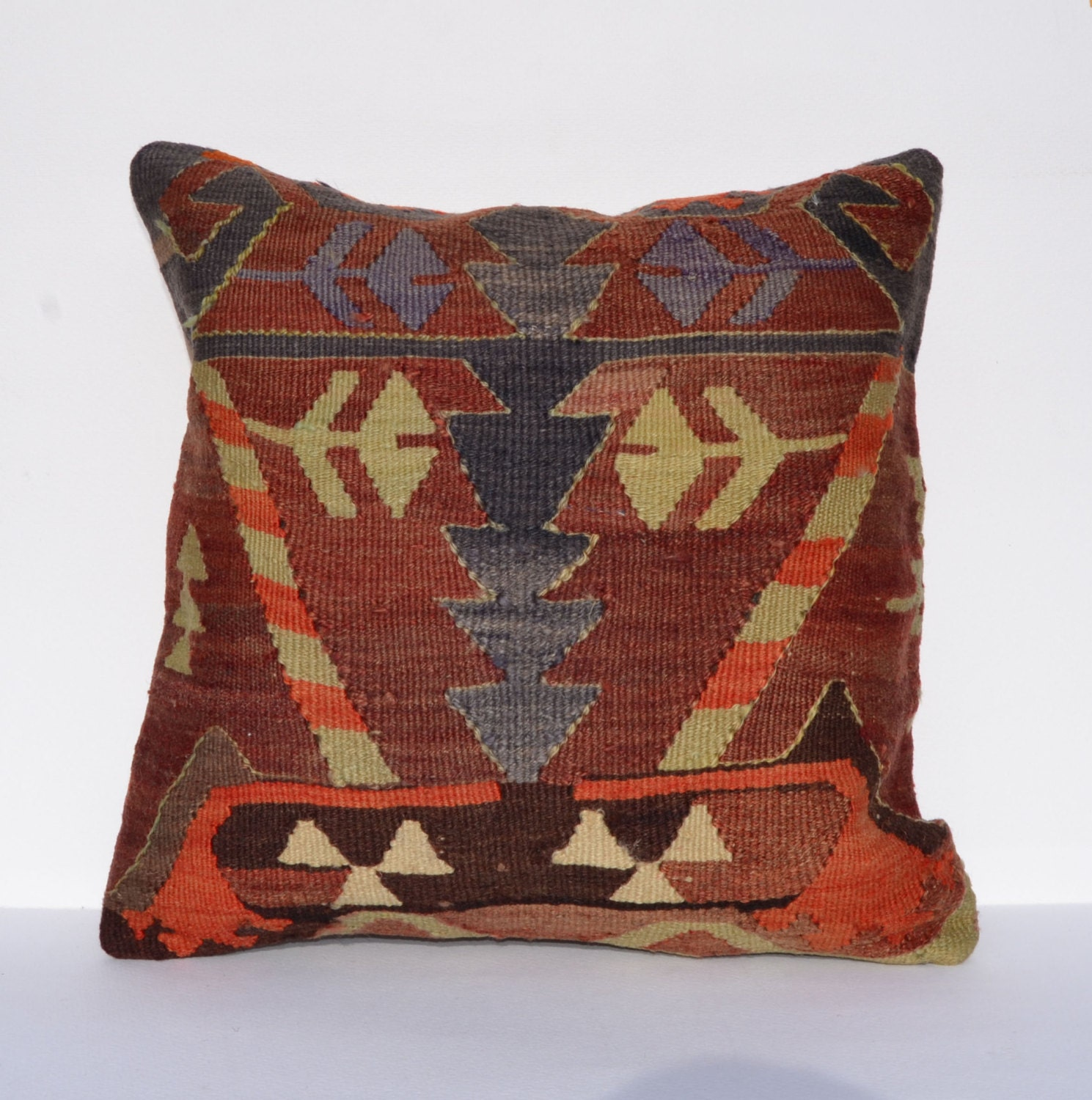 Throw Pillows King Size Bed : Decorative Pillows Pillow Cases kilim pillow 16 by PillowsHistoric