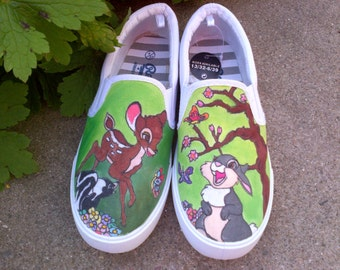 Bambi Style Canvas Shoes