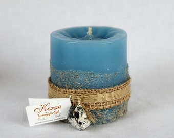 "Candles, Pillar Candle "" maritime """