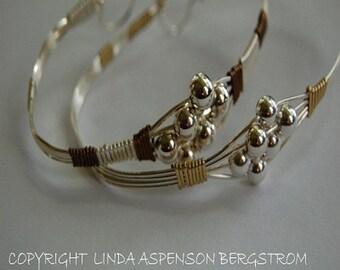 Bracelet tutorial, Wire, 'Sweet Silver'