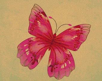 Butterfly PDF Cross Stitch Pattern