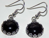 Onyx Dangle Earrings Onyx Earrings Onyx Drop Earrings