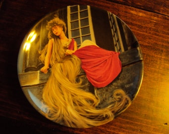 """Grimm's Fairy Tales Collector Plate - """"Rapunzel""""  No extra charge for Shipping in US"""