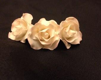 Mini Sugar Flowers Roses ~ Gum Paste Flowers ~ Edible cake topper