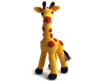 Crochet pattern Giraffe - amigurumi - instant download pdf