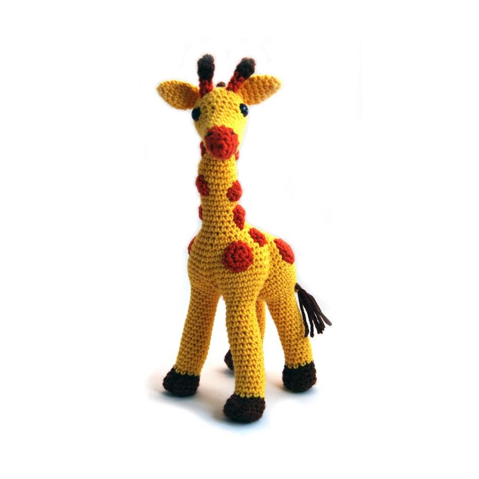 Tutorial Giraffe Amigurumi : Crochet pattern Giraffe amigurumi instant download pdf