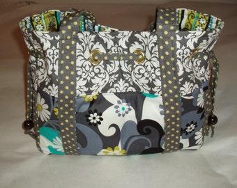 Tote Bag Diaper Bag, Michael Miller fabric