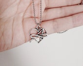 Poly Skeptic/Poly Atheist Charm Necklace
