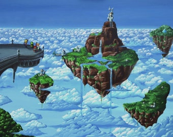 Chrono Trigger - Zeal - poster 40 x 60 cm - coated paper 250g - geek decor