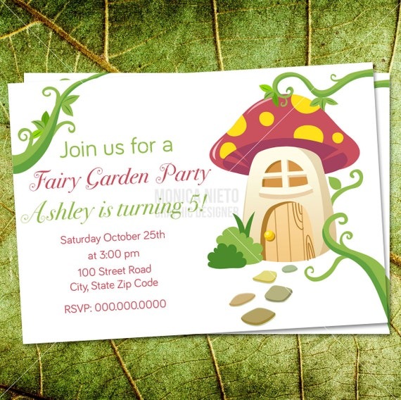 Product Search Fairy Tea Party – Fairy Tea Party Invitations