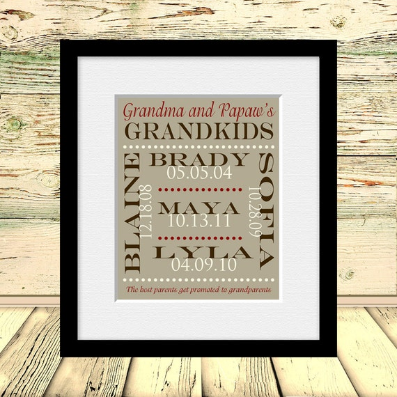 Gifts For Grandparents 50th Wedding Anniversary: 50th Anniversary Gift For Grandparents Personalized