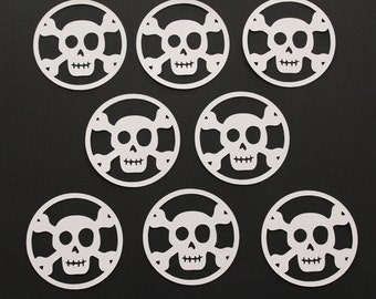 8 Skull Die Cut / Scrapbooking / Card Making / Holiday Decor / Halloween
