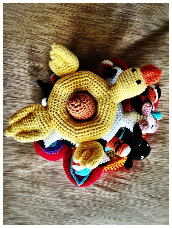 Amigurumi Magische Ring : Ring Stacking amigurumi Animal- Arium. Ring stacka and ...